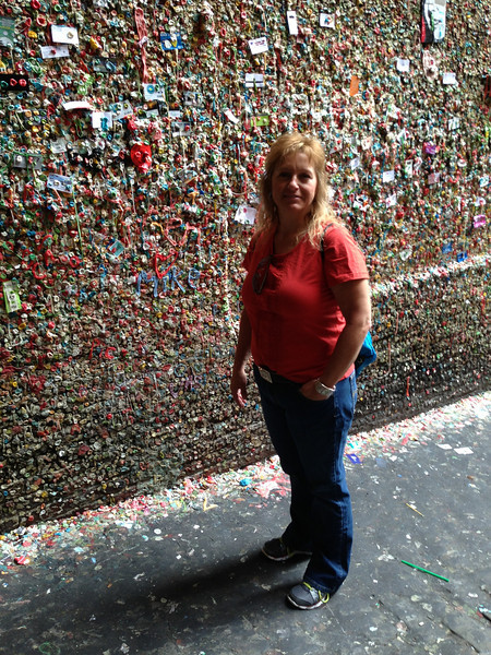 The Gum Wall at Pike Place Market
