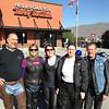 David, Korene, Linda, Jody and Gary, at Hells Canyon Harley, Lewiston, ID
