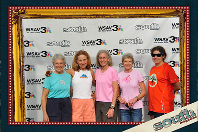 Margy Exley, Pam Manuel, Helen Andrew, Jenny Kyle, Beverly English