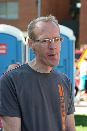 Richmond VA Monument Ave 10K, April 12-13, 2013. Ken, post race.