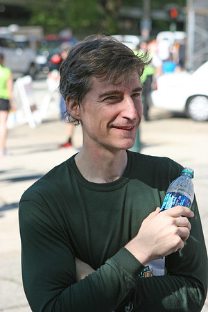 Richmond VA Monument Ave 10K, April 12-13, 2013. John, post race.
