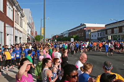 Richmond VA Monument Ave 10K, April 12-13, 2013