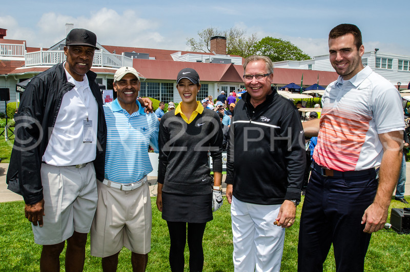 5 Icons of sports...Dr J., Herm Edwards, Michelle Wie, Ron Jaworski, and Joe Flacco.