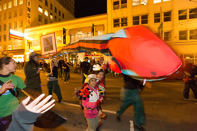 San Francisco Chinese New Year Parade 2013 - San Francisco, CA, USA