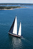 """""""Marie"""" 2013 Shipyard Cup.  Boothbay Harbor Maine.  August 11, 2013.  1594"""