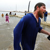 """Brian Patterson has had enough of the cold water on Saturday.<br /> The Polar Plunge is a grassroots fundraiser presented by the Law Enforcement Torch Run for Special Olympics Colorado.<br /> For more photos and a video, go to  <a href=""""http://www.dailycamera.com"""">http://www.dailycamera.com</a>.<br />  Cliff Grassmick  / February 9, 2013"""