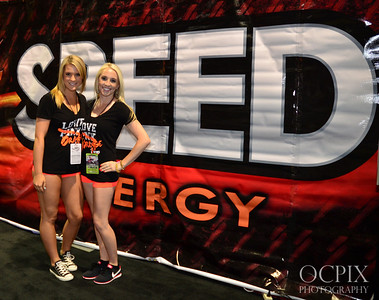 Speed Energy Drink promotional models
