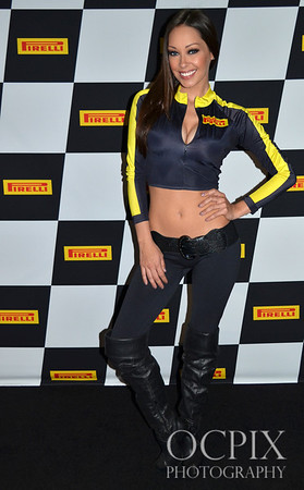 Corissa Furr Promo model during the 2013 Toyota Grand Prix of Long Beach.