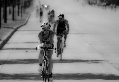 2013 USA Triathlon Championships. Bicycle leg, 40k. Taken on Lake Dr. St Francis Wisconsin