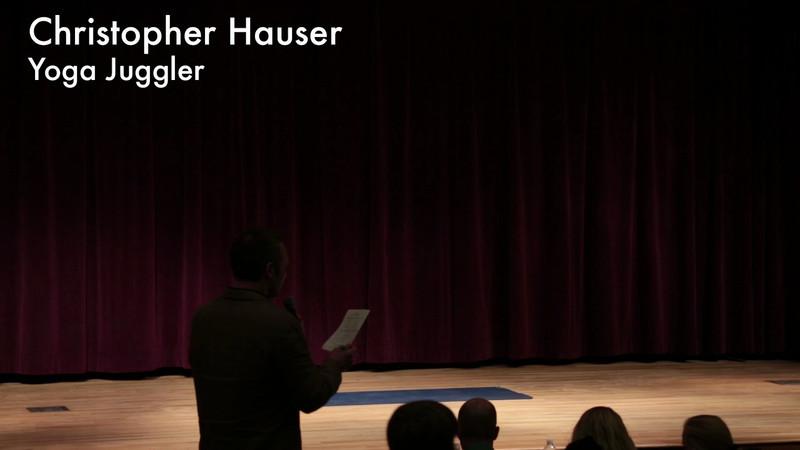 Christopher Hauser Yoga Juggler
