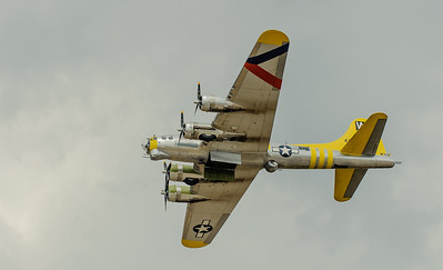 """Boeing B-17G Flying Fortress """"Chuckie"""" appearing at the """"Warbirds Air Show"""" Titusville, Florida"""