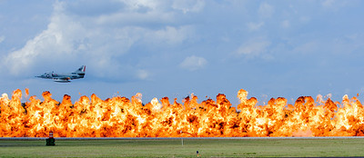"""A-4 Skyhawk and the """"Wall of Fire"""""""
