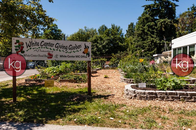 2013 White Center Jubilee Days Garden Tour<br /> White Center Food Bank Giving Garden