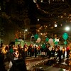 Candlelight Vigil for Newtown Victims around Nazzaro Center tree in playground.