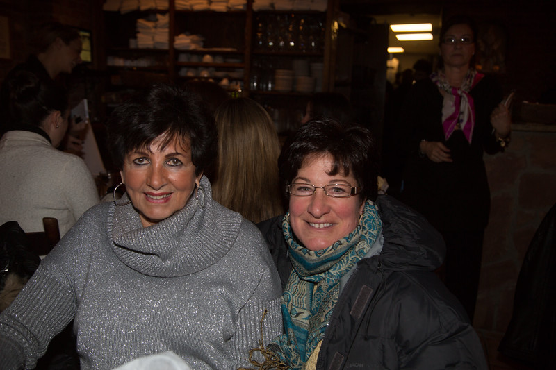Maria Agrippino (left) and Janine Coppola at Antico Forno to support CityFeast, Dining Out to Fight Diabetes