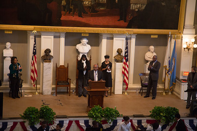 Ernest G. Green at Faneuil Hall on MLK Jr. Day 2013