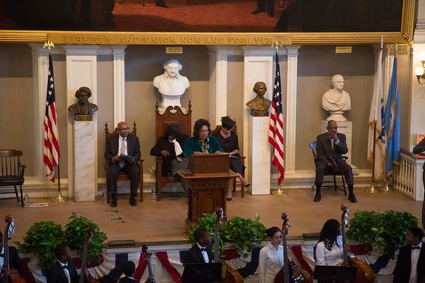 Beverly Morgan Welch at 2013 MLK Jr Day at Faneuil Hall