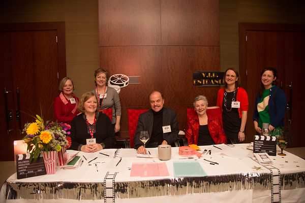 Leaders of the Friends of the North End Library. From the left, Terry Pittaro, President Robin Ardito, Vice-President Paula Luccio, Secretary Jim Salini, Phyllis Vitti, Treasurer Donna Wells and Children's Librarian, Jennifer Hawes