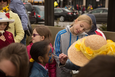 Face painting on Daffodil Day - 2013-04-14 at 13-07-21