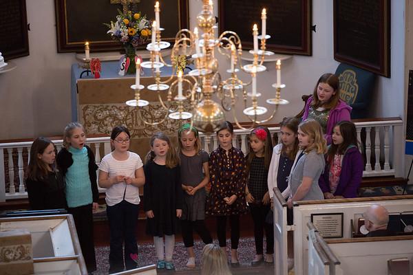 NEMPAC's Children's Choir performs at the Marathon Tragedy Vigil - 2013-04-25 at 19-18-57