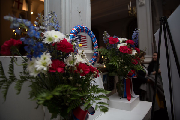 Tribute at Old North Church to the Marathon Victims