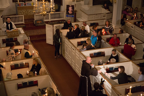 Lighting of the Candles at Old North Church