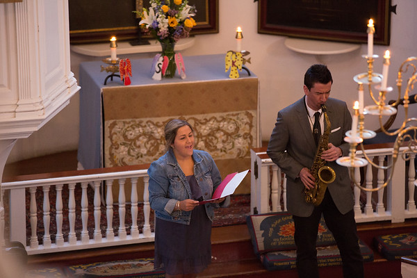 "Nina Finocchiaro Sings ""Amazing Grace"" accompanied by Scott Boni on Saxophone - 2013-04-25 at 19-30-42"