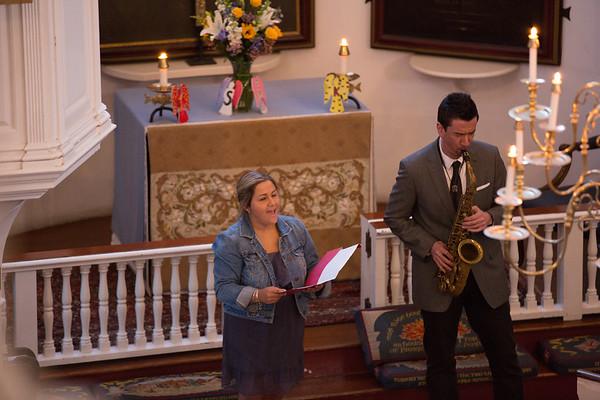 "Nina Finocchiaro Sings ""Amazing Grace"" accompanied by Scott Boni on Saxophone - 2013-04-25 at 19-30-42"