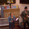 "Nina Finocchiaro Sings ""Amazing Grace"" accompanied by Scott Boni on Saxophone"