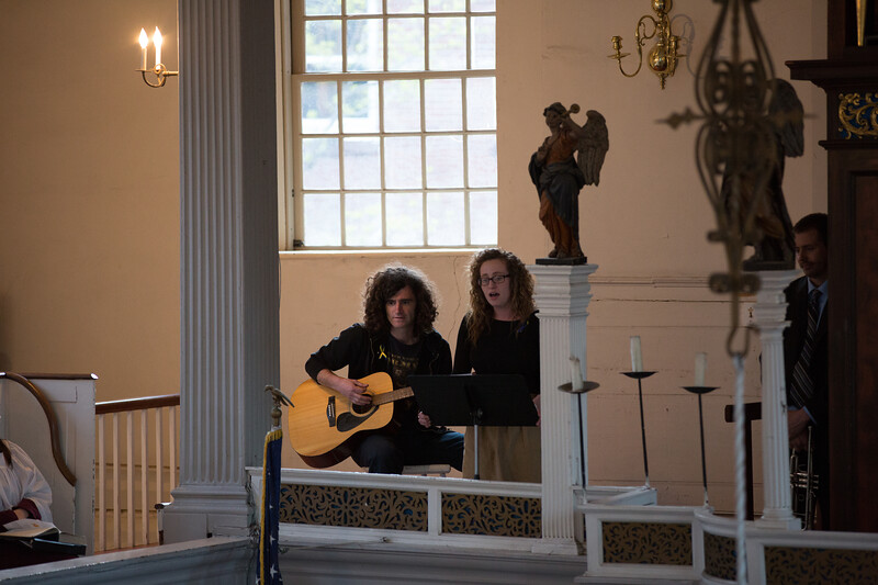 Courtney and Jeremy Perform at Marathon Bombing Vigil