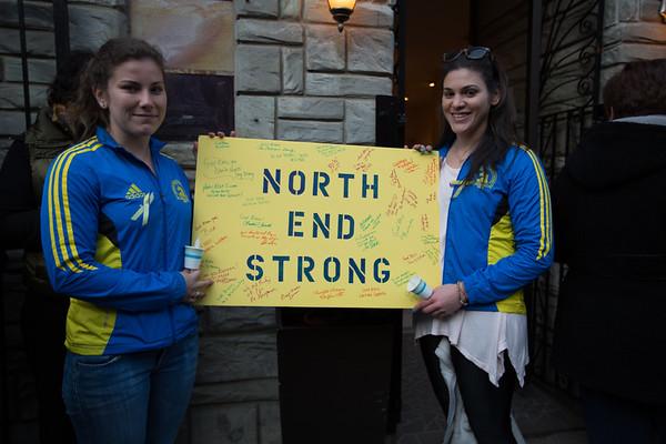 Marathon Friends, Justine & Joceyln - North End Strong - 2013-04-21 at 18-04-15