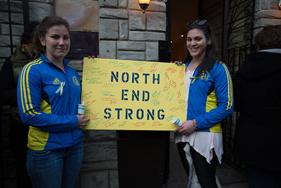 Marathon Friends, Justine & Joceyln - North End Strong - 2013-04-21 at 18-04-15