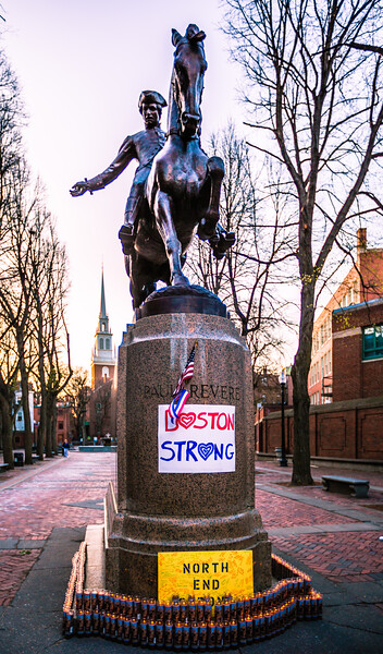 Boston Strong - North End Strong on Prado