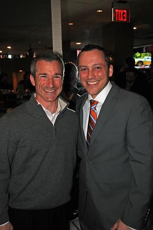 Stephen Passacantilli (left) and Rep. Aaron Michlewitz