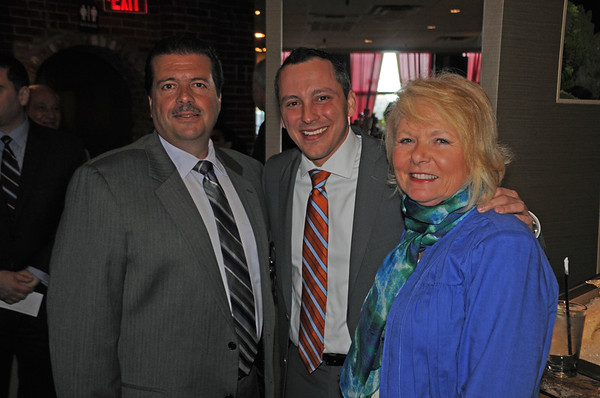 (L-R) Dan Nuzzo, Rep. Aaron Michlewitz and Joanne Hayes-Rines