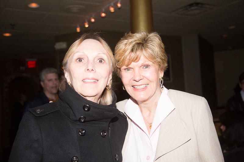 Suzanne Lavoie (left) and Anne Devlin Tagliaferro
