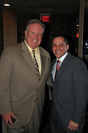 City Council President Stephen Murphy (left) & Rep. Aaron Michlewitz