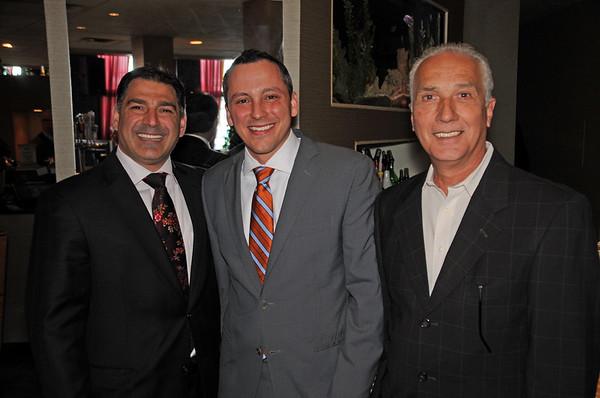 (L-R) Dan Toscano, Rep. Aaron Michlewitz, Bobby Dello Russo