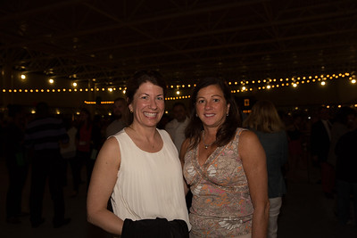 Maria Shea (left) and Friend Enjoy Taste of the North End - 2013-05-10 at 20-43-41