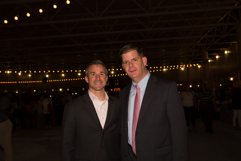 Is this the winning team? Marty Walsh (right) and Stephen Passacantilli