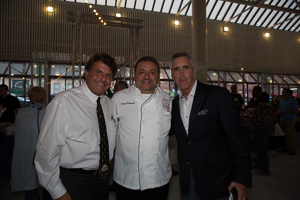 From the left, Joe Piantedosi, Donato Frattaroli and Billy Costa