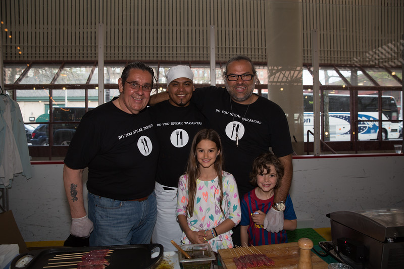 The Taranta Gang with Jose Duarte at 2013 Taste of the North End