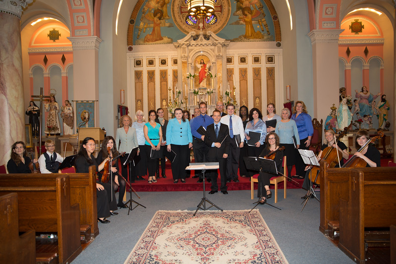 St. Leonard's Choral Society at Sacred Heart Church