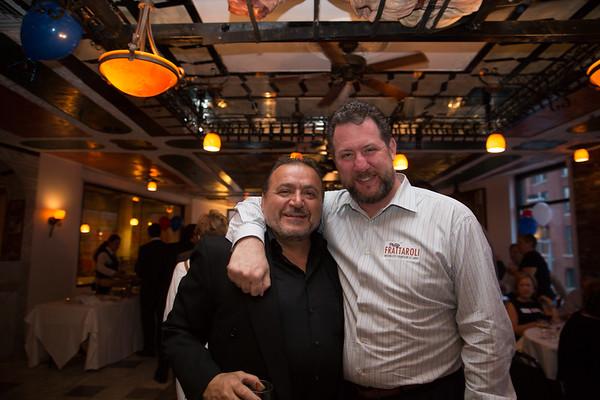 Donato Frattaroli (left) and Jason Aluia
