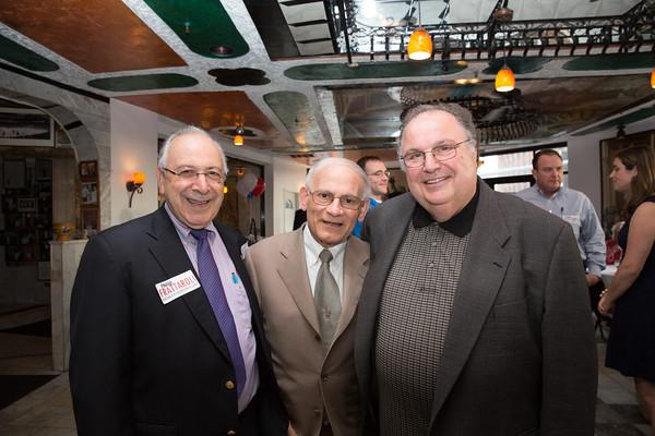 Joe Pace (right),  Joseph Giangregorio (center) and friend