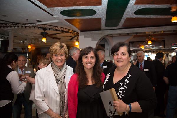 Anne Devlin Tagliaferro (left), Daniella Frattaroli (center) and Anna Frattaroli