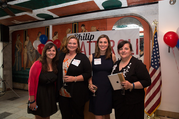 From the left, Daniella Frattaroli, Julie Fagan, Kelly Frattaroli and Anna Frattaroli