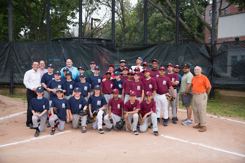 4th Annual North2South Baseball Classic - North End in Blue, South End in Maroon