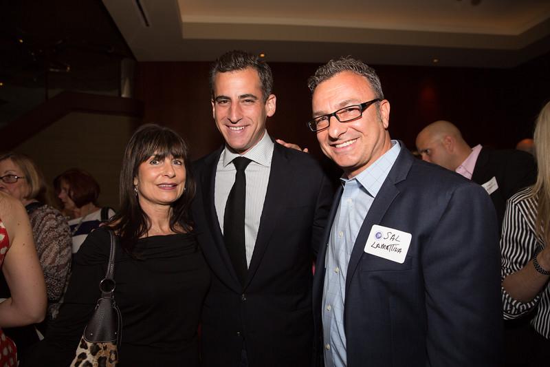 Kathy Carangelo, Mayoral Candidate Mike Ross and City Councilor Sal LaMattina