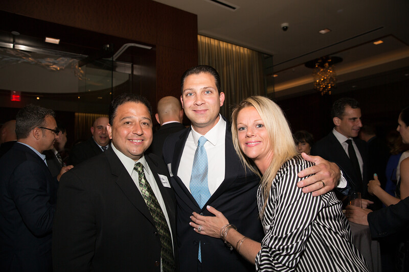 Mayoral Candidate Rob Consalvo (left), State Senator Anthony Petruccelli and Alessandra Petruccelli